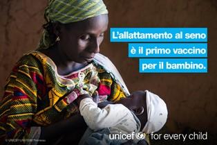 """SAM 2019: UNICEF ITALIA LANCIA IL RAPPORTO """"ALIMENTAZIONE INFANTILE NELLA EMERGENZE"""""""