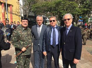IL CONSOLE GENERALE BORTOT A SANTA MARTA PER LA SETTIMANA DELLA PATRIA BRASILIANA