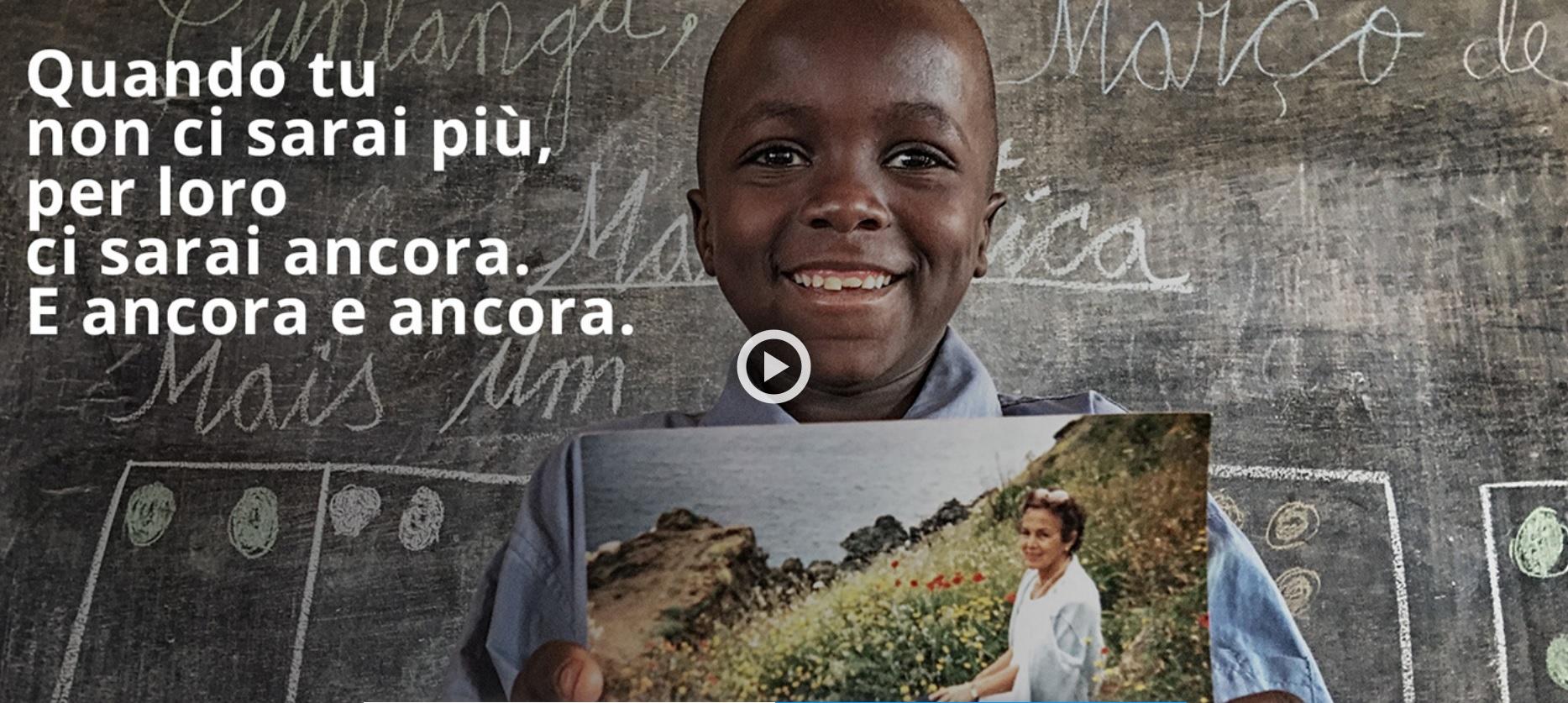 GIORNATA INTERNAZIONALE DEI LASCITI SOLIDALI: L'IMPEGNO DI UNICEF ITALIA