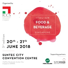 """ITALIAN FOOD AND BEVERAGE"": TERZA EDIZIONE A SINGAPORE"