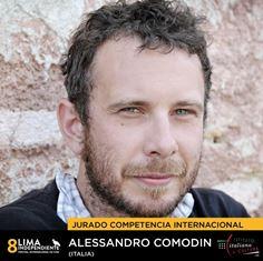 "ALESSANDRO COMODIN ALL'8º FESTIVAL CINEMATOGRAFICO ""LIMA INDEPENDIENTE"""