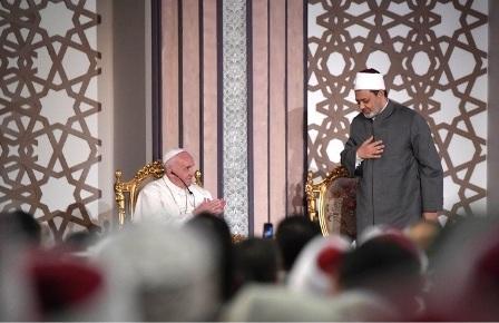 PAPA FRANCESCO IN EGITTO: INSIEME CONTRO OGNI VIOLENZA