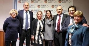 CORONAVIRUS: ZINGARETTI (LAZIO) INCONTRA L'AMBASCIATORE CINESE E LE RICERCATRICI DELLO SPALLANZANI