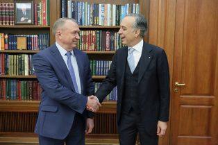MOSCA: L'AMBASCIATORE TERRACCIANO INCONTRA IL PRESIDENTE KATYRIN (TPP)