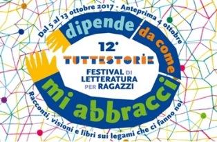 """""""DIPENDE DA COME MI ABBRACCI"""": A CAGLIARI IL 12° FESTIVAL TUTTESTORIE DI LETTERATURA PER RAGAZZI"""