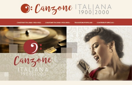 CANZONEITALIANA.IT: UN SECOLO DI MUSICA ON LINE