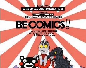 BE COMICS! A PADOVA TERZA EDIZIONE DEL FESTIVAL INTERNAZIONALE DEL FUMETTO