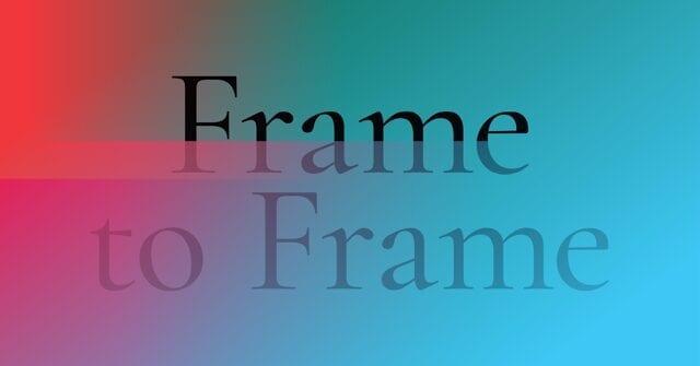 Frame to Frame: una settimana (digitale) dedicata al cinema sperimentale