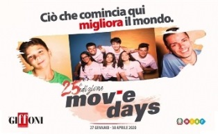 I MOVIE DAYS 2020 APRONO L'ANNO DI GIFFONI50