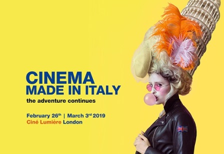 "TORNA A LONDRA ""CINEMA MADE IN ITALY"""