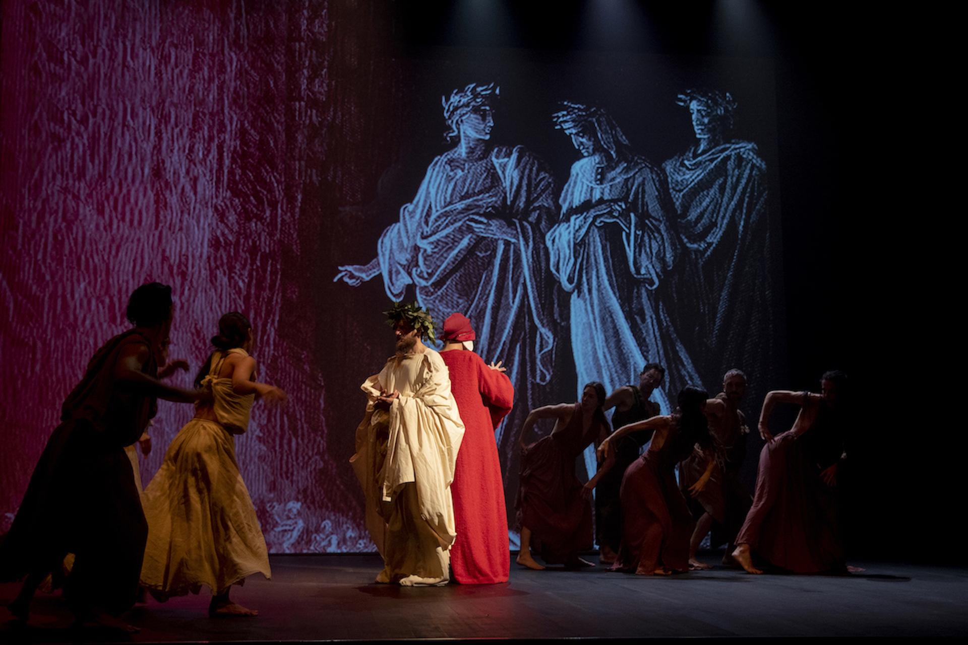 """""""Dante, per nostra fortuna"""": il film di Finazzer Flory in streaming nel mondo con la rete di IIC e Ambasciate"""