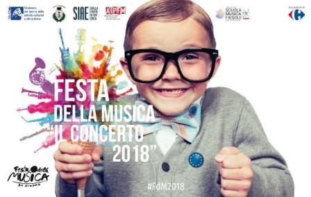 """FESTA DELLA MUSICA 2018: UN """"INNO ALLA GIOIA"""""""