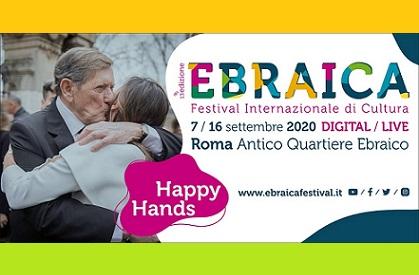 HAPPY HANDS: TORNA A ROMA IL FESTIVAL EBRAICA