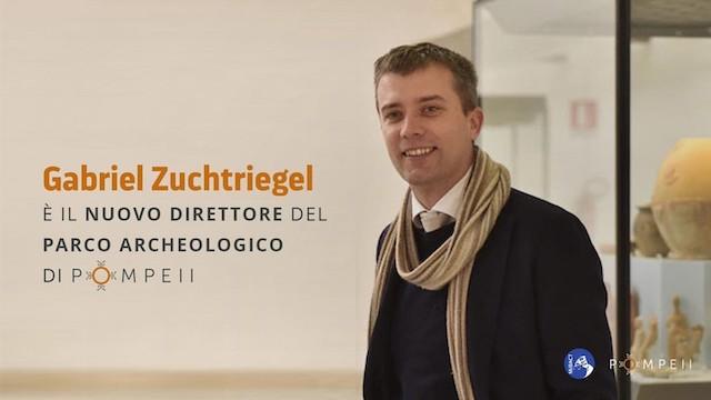 L'archeologo tedesco Zuchtriegel nuovo direttore del Parco Archeologico di Pompei