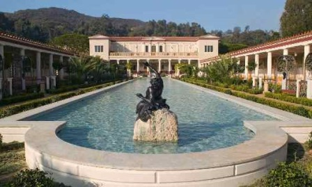 "AL GETTY VILLA ""BURIED BY VESUVIUS"""