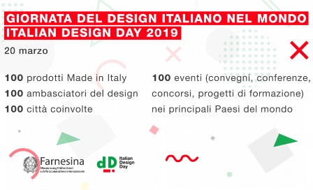 20 MARZO: È ITALIAN DESIGN DAY 2019