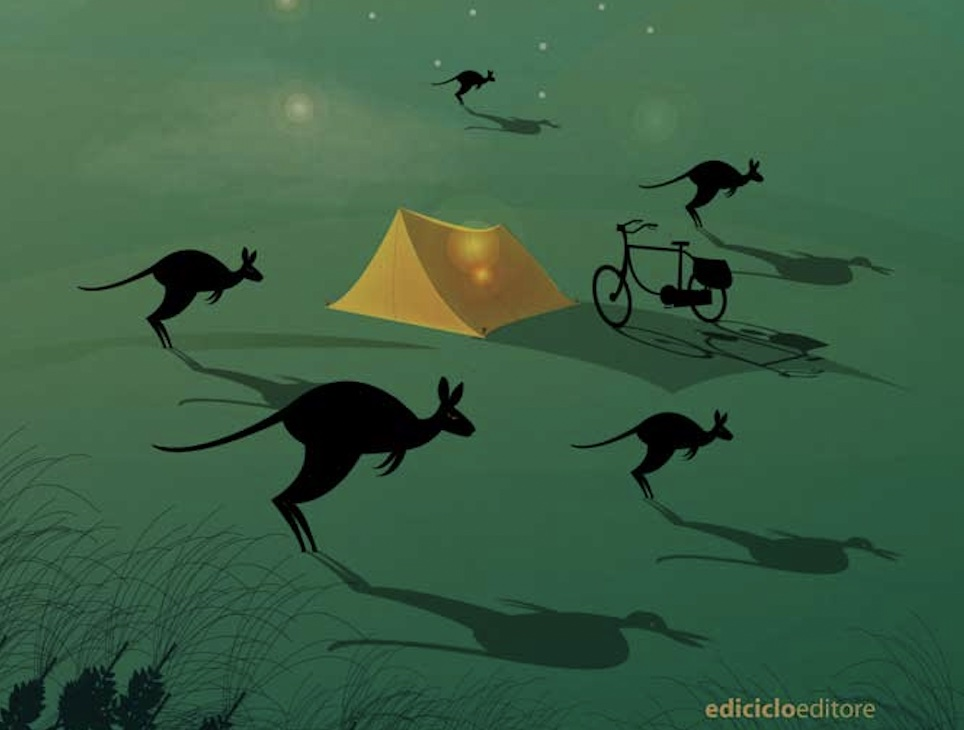 """""""Prendo la bici e vado in Australia. Da Brescia a Melbourne alla ricerca della felicità"""" con Francesco Gusmeri ed il suo libro"""