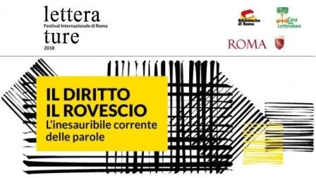 LETTERATURE FESTIVAL: IL DIRITTO / IL ROVESCIO