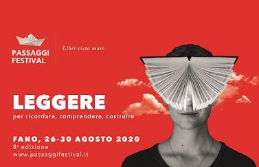 """PASSAGGI FESTIVAL DELLA SAGGISTICA 2020: """"LIBRI VISTA MARE"""" A FANO"""