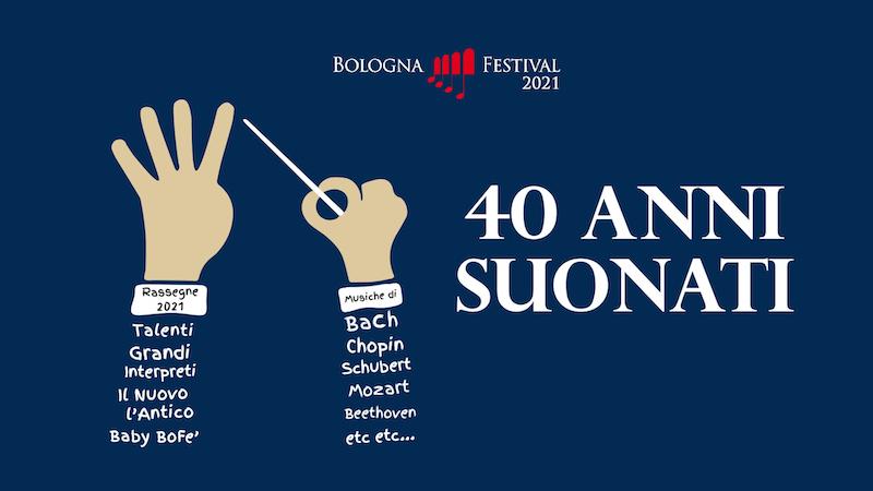 """I 40 anni """"suonati"""" del Bologna Festival: partenza sul web con le rassegne e non solo"""