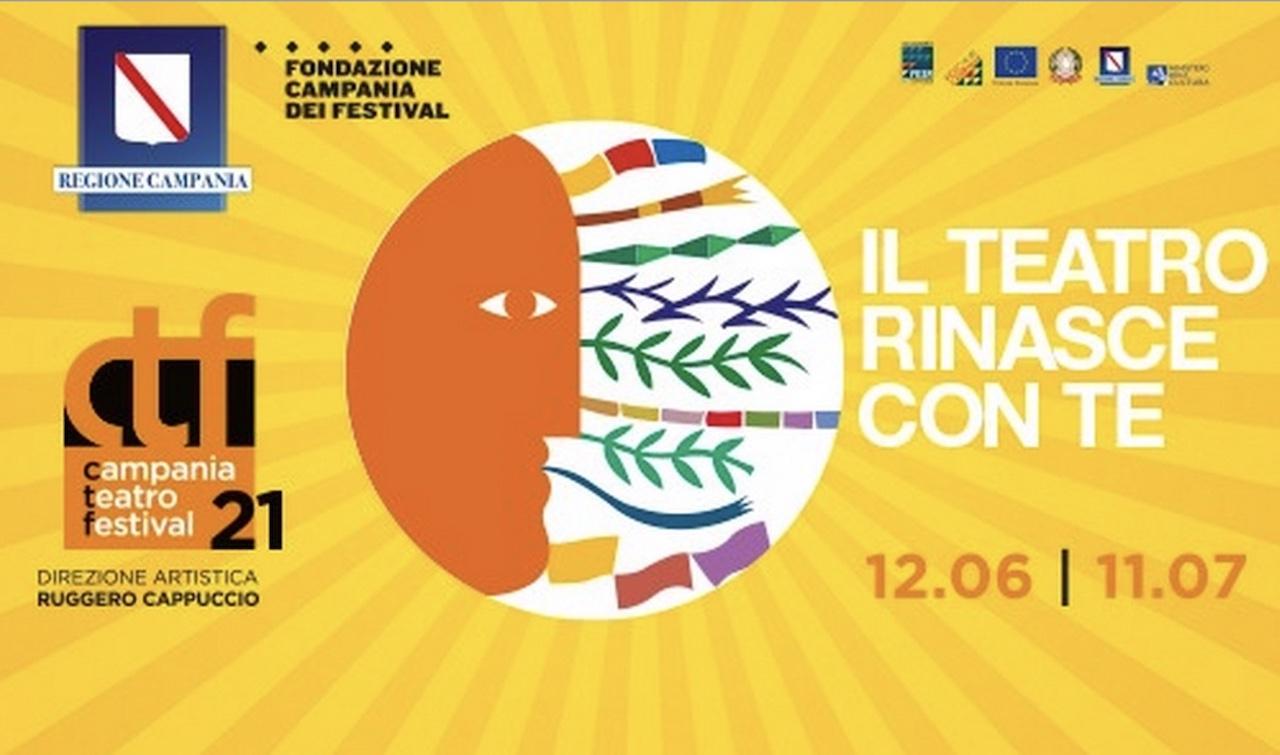 """""""Il teatro rinasce con te"""" con il Campania Teatro Festival 2021"""