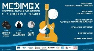 MEDIMEX: A TARANTO l'INTERNATIONAL FESTIVAL & MUSIC CONFERENCE