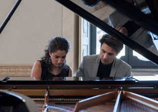 RECITAL DI PIANOFORTE CON IL DUO SPINA-BENIGNETTI ALL'IIC DI SYDNEY