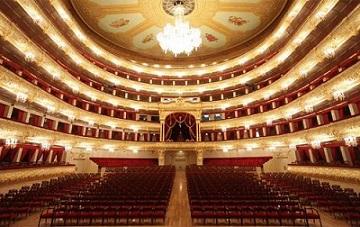 CONCERTO AL BOLSHOI DI MOSCA PER CELEBRARE IL PROGRAMMA DI SCAMBI MUSICALI GIOVANILI