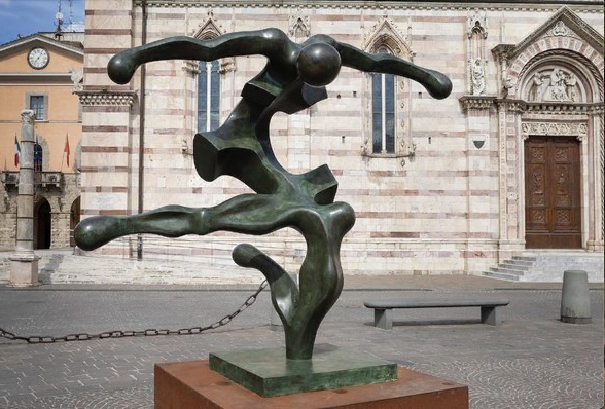 """La primavera a Grosseto è """"Dinamica"""" con le sculture monumentali di Sauro Cavallini"""