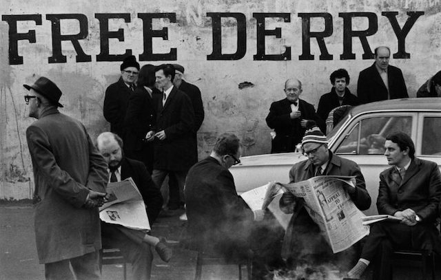 """From London to free Derry"": a Bologna gli scatti di Gian Butturini"