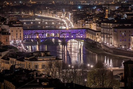 """Sight: dalla selva oscura alla luce"" con il Firenze Light Festival"