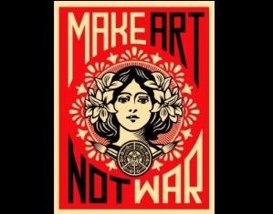 """""""MAKE ART NOT WAR"""": DAGLI USA A ROMA L'ARTE DI STRADA DI OBEY"""