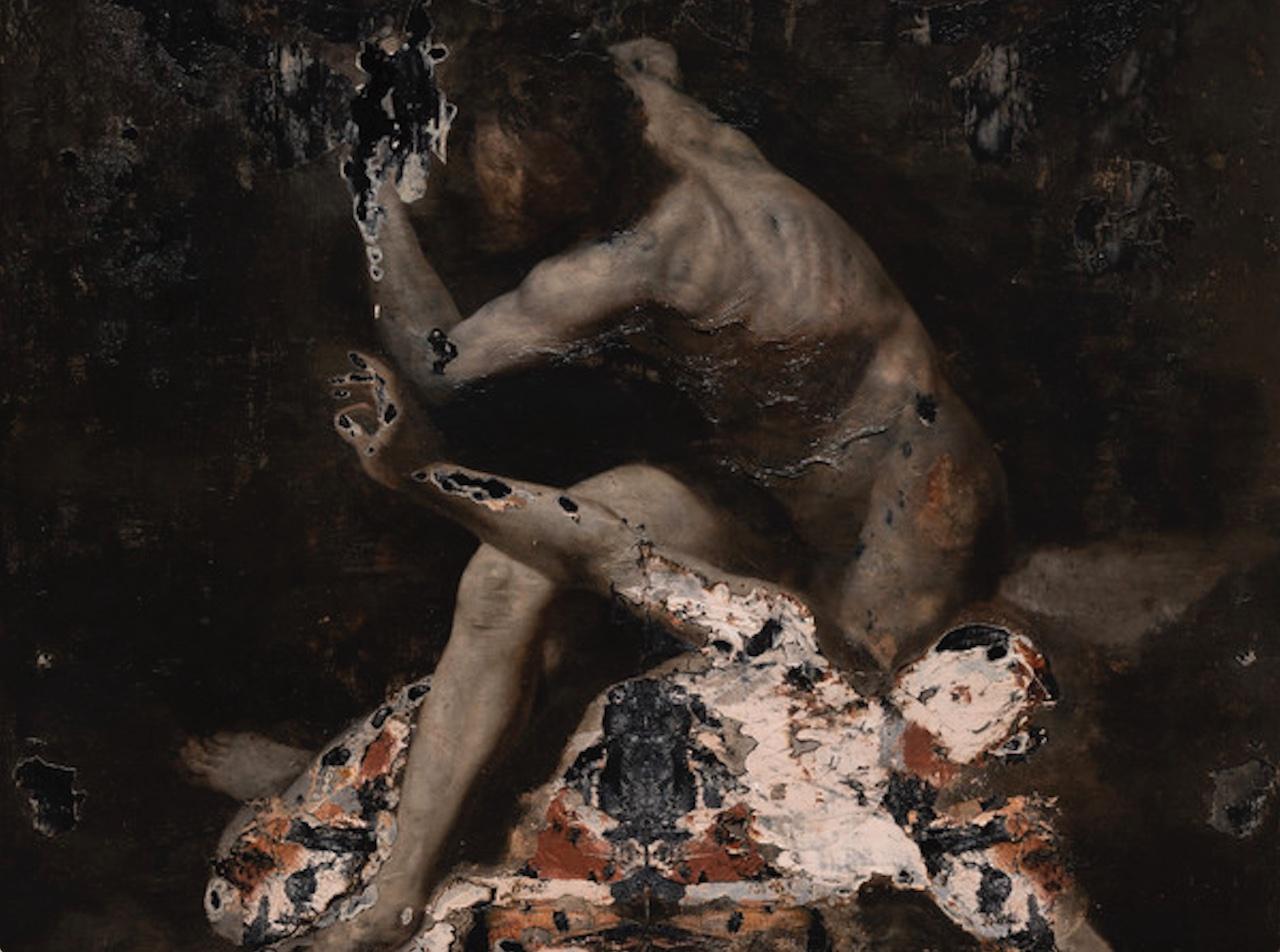 """""""Sfregi"""": a Bologna la prima mostra antologica in Italia di Nicola Samorì"""