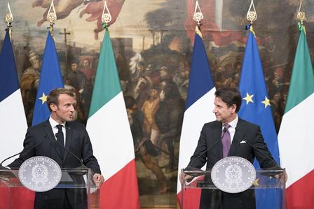 CONTE E MACRON: SI APRE UNA NUOVA STAGIONE EUROPEA
