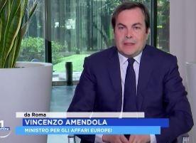MINISTRO AMENDOLA: PASSI AVANTI NEL NEGOZIATO CON L'UE