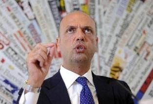 IL MINISTRO ALFANO A COLLOQUIO CON L'AGENZIA RUSSA TASS