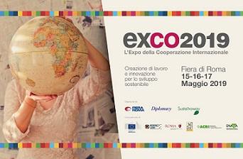 LA COOPERAZIONE INTERNAZIONALE E ALLO SVILUPPO SI PRESENTA AD EXCO2019