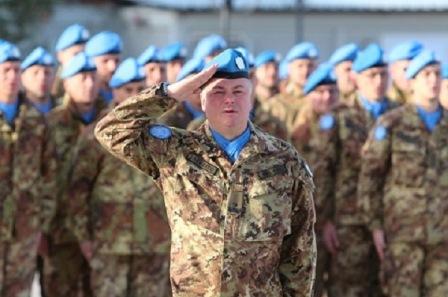 LIBANO: STEFANO DEL COL NUOVO COMANDANTE DI UNIFIL
