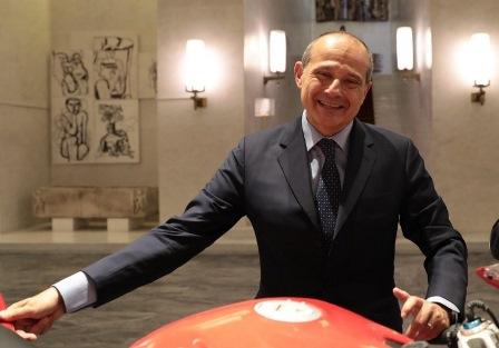 LUIGI FERRARI AMBASCIATORE D'ITALIA A COPENAGHEN