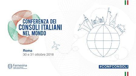 DA DOMANI LA CONFERENZA DEI CONSOLI ITALIANI NEL MONDO