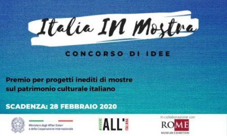 """""""ITALIA IN MOSTRA"""" CON LA FARNESINA"""