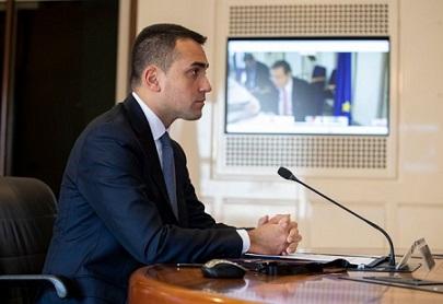 IL MINISTRO DI MAIO ALLA PRIMA SESSIONE DELLA MINISTERIALE ESTERI NATO DI FINE ANNO