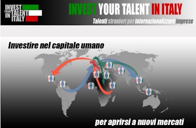 Invest Your Talent in Italy: aperto il bando 2021-2022