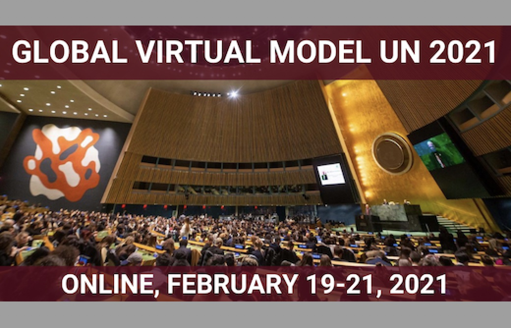 Future We Want Global Virtual Model UN - GVMUN 2021