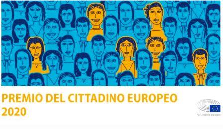 PREMIO DEL CITTADINO EUROPEO 2020: CANDIDATURE APERTE FINO AL 30 GIUGNO
