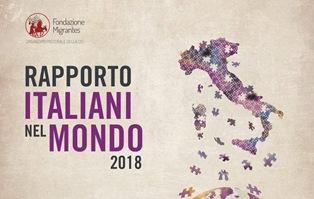 """IL """"RAPPORTO ITALIANI NEL MONDO 2018"""" A CHARLEROI"""