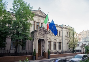 ONORIFICENZA A VALERY BONDARENKO: CERIMONIA ALL'AMBASCIATA ITALIANA A MOSCA