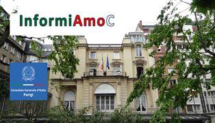 """""""INFORMIAMOC"""": SECONDO INCONTRO AL CONSOLATO DI PARIGI"""