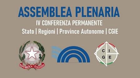 IV CONFERENZA STATO – REGIONI – PROVINCE AUTONOME – CGIE