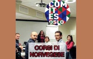 OSLO: TORNANO I CORSI DI LINGUA NORVEGESE PROMOSSI DAL COMITES